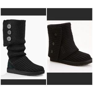 b95494f84d8 Women's Ugg Boots In Black | Poshmark